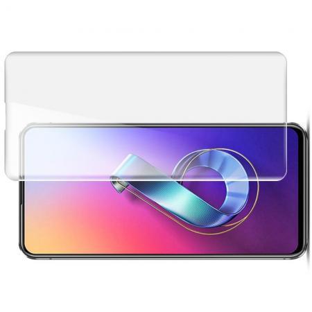 Защитная Гидрогель Full Screen Cover IMAK Hydrogel пленка на экран Asus Zenfone 6 ZS630KL - 2шт.