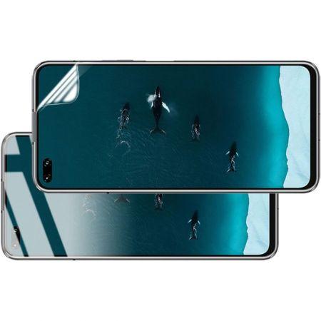 Защитная Гидрогель Full Screen Cover IMAK Hydrogel пленка на экран Huawei Honor 30S / Honor 30