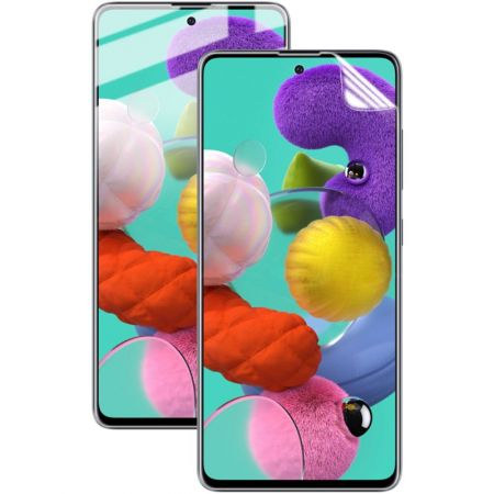 Защитная Гидрогель Full Screen Cover IMAK Hydrogel пленка на экран Samsung Galaxy A51