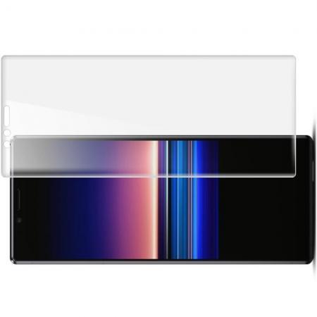 Защитная Гидрогель Full Screen Cover IMAK Hydrogel пленка на экран Sony Xperia 1 - 2шт.