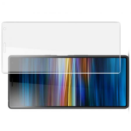 Защитная Гидрогель Full Screen Cover IMAK Hydrogel пленка на экран Sony Xperia 10 Plus - 2шт.