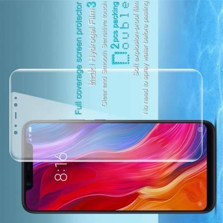 Защитная Гидрогель Full Screen Cover IMAK Hydrogel пленка на экран Xiaomi Mi 8