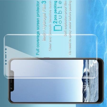 Защитная Гидрогель Full Screen Cover IMAK Hydrogel пленка на экран Xiaomi Pocophone F1