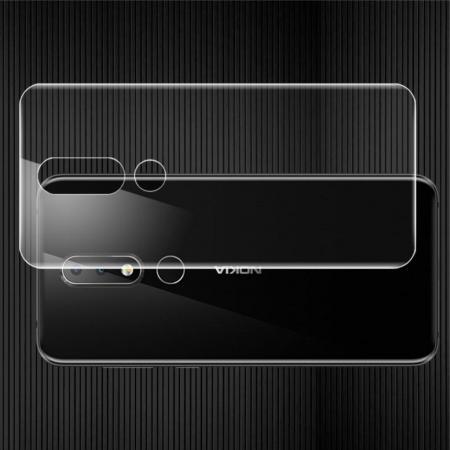 Защитная Гидрогель Full Screen Cover IMAK Hydrogel пленка на Заднюю Панель Nokia 6.1 Plus