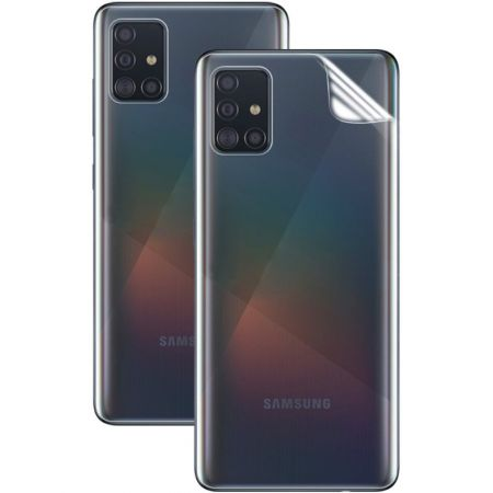 Защитная Гидрогель Full Screen Cover IMAK Hydrogel пленка на Заднюю Панель Samsung Galaxy A51