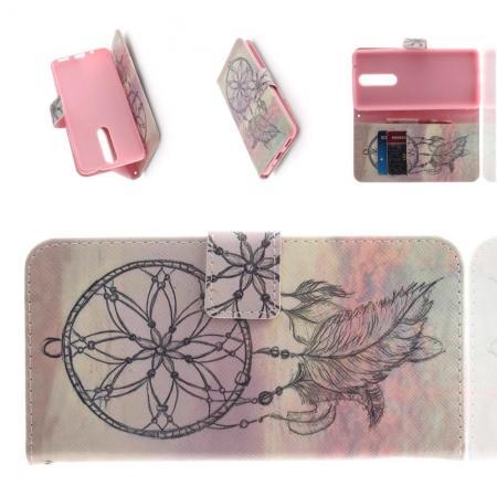 Защитный Флип Чехол для Nokia 5.1 Plus в Виде Книжки с Рисунком Ловец Снов