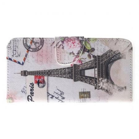 Защитный Флип Чехол для Xiaomi Pocophone F1 в Виде Книжки с Рисунком Париж